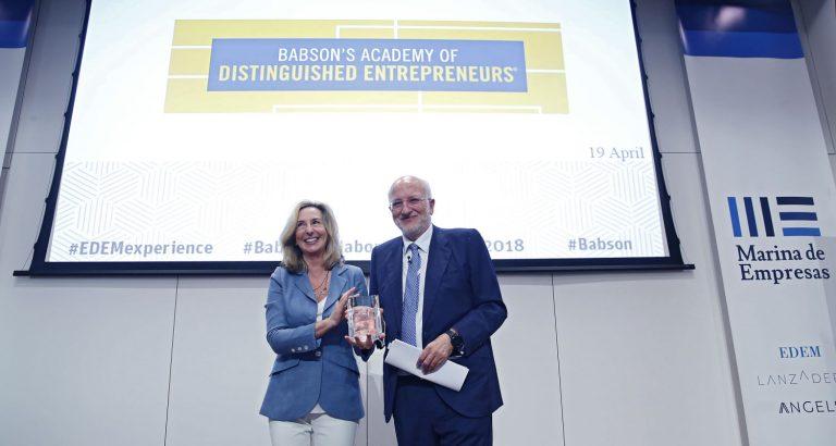 Juan Roig, primer español que entra en la Academia de Emprendedores Distinguidos de Babson College