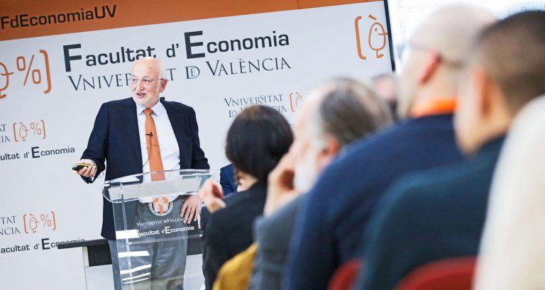 Conferencia de Juan Roig en la UV