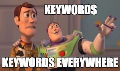 Meme Toy Story - Keywords everywhere