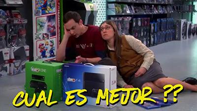 Meme Sheldon Cooper intentando elegir cual es mejor