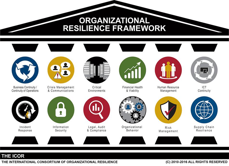 Marco de actuación de una empresa resiliente