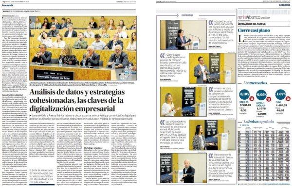 Levante - Jornada digitalización Marina de Empresas -