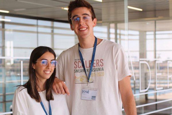 Visibluu - María Trénor y José Navarrete