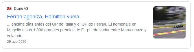 Tweet Diario AS Ferrari