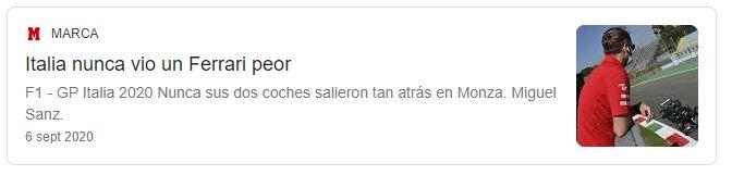 Tweet Marca Ferrar